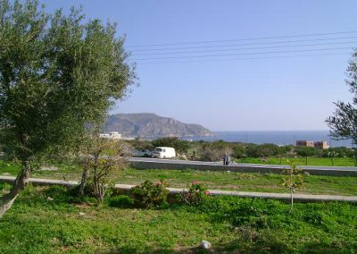 View of the sea from Scarpantos Studios