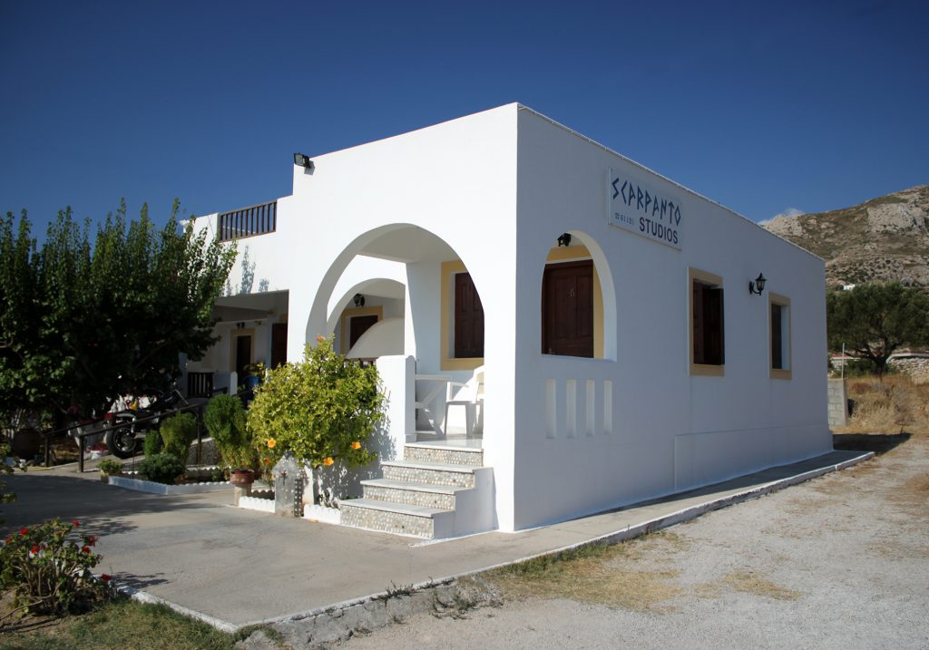 Scarpantos studios: the most beautiful studios in karpathos